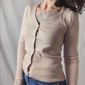 JOIE Patsy B Cardigan with Cashmere Button Top